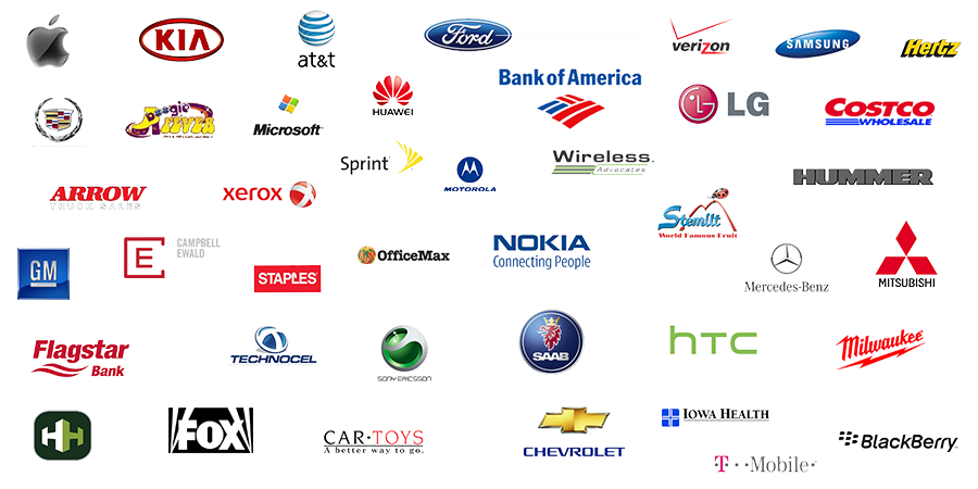 Clients logos Sample productions